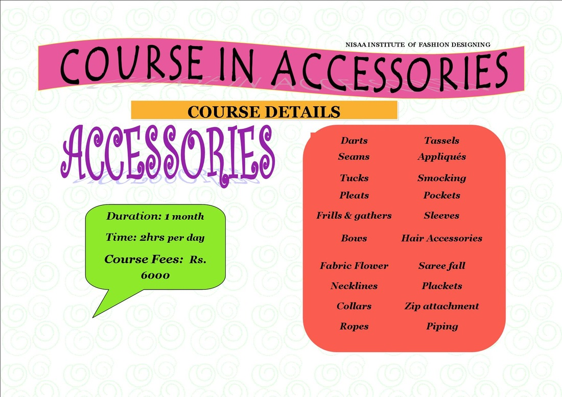 Accessories School Of Fashion Design Embroidery 9833881790